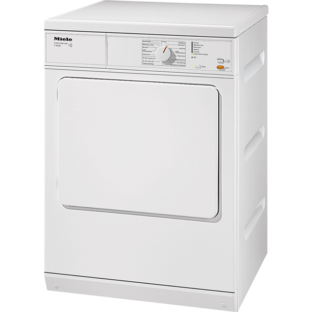 Miele T8302 Free Standing Vented Tumble Dryer in White