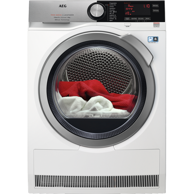 AEG T9DEC866R Heat Pump Tumble Dryer - Stainless Steel