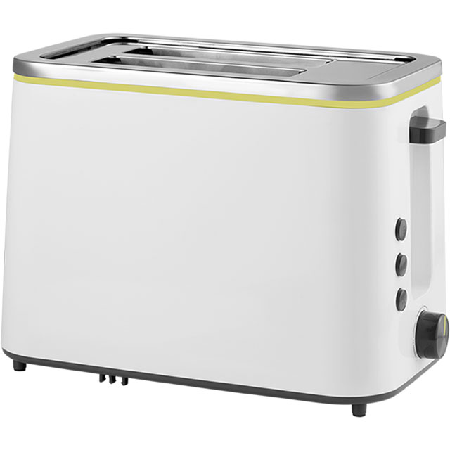 Beko New Line TAM4321W 2 Slice Toaster - White