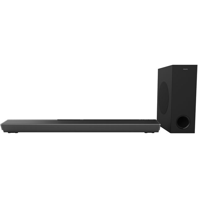 Philips TAPB603 Multiroom Bluetooth Soundbar with Wireless Subwoofer - Black - TAPB603 - 1