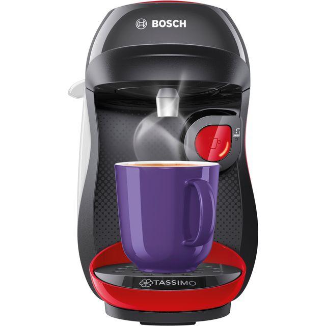 Tassimo by Bosch Happy TAS1003GB Pod Coffee Machine - Red / Black