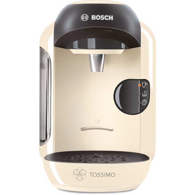 bosch tas1257gb tassimo vivy ii pod coffee machine 1300 watt cream new. Black Bedroom Furniture Sets. Home Design Ideas
