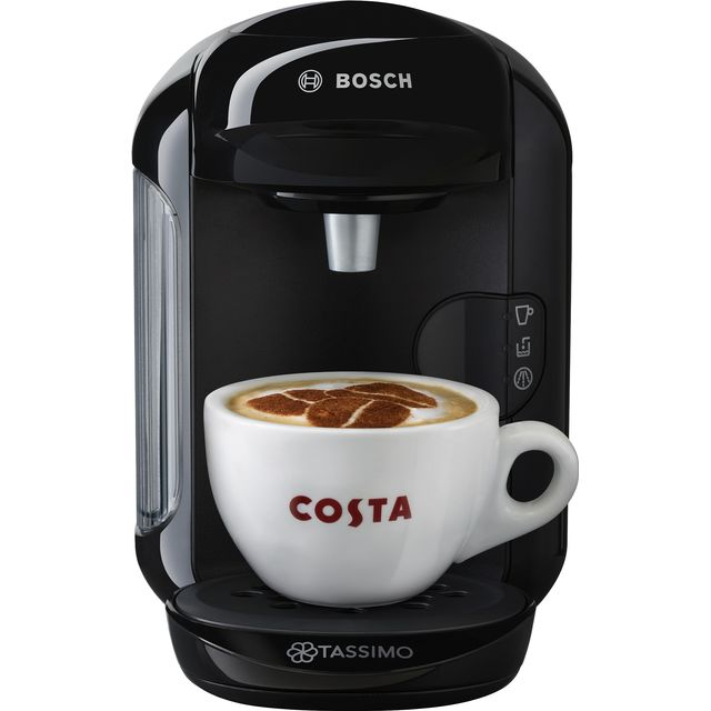 Tassimo by Bosch Vivy 2 TAS1402GB Pod Coffee Machine - Black - TAS1402GB_BK - 1