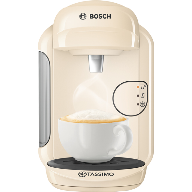 Tassimo by Bosch Vivy 2 TAS1407GB Pod Coffee Machine - Cream - TAS1407GB_CR - 1