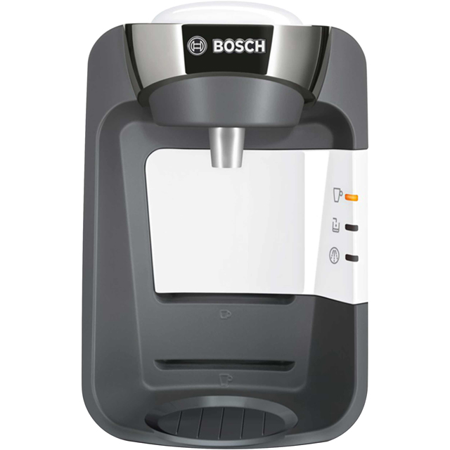 Tassimo by Bosch Suny TAS3204GB Pod Coffee Machine - White - TAS3204GB_WH - 1