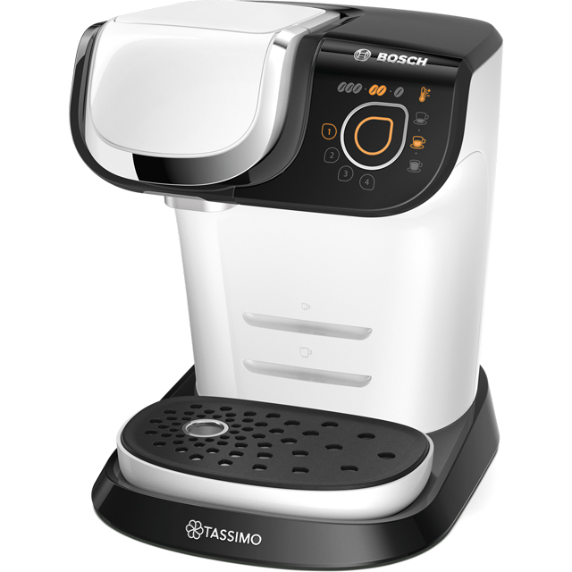Tassimo by Bosch TAS6004GB Pod Coffee Machine - White