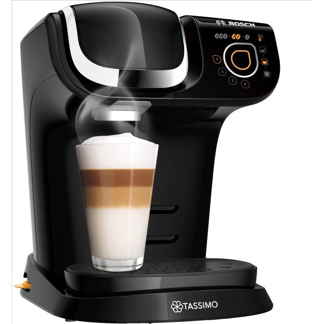 Tassimo by Bosch My Way 2 TAS6502GB Pod Coffee Machine - Black - TAS6502GB_BK - 1