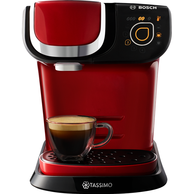 Tassimo by Bosch My Way 2 TAS6503GB Pod Coffee Machine - Red