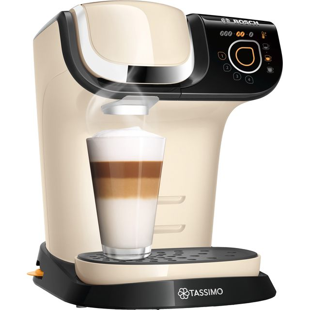 Tassimo by Bosch My Way 2 TAS6507GB Pod Coffee Machine - Cream