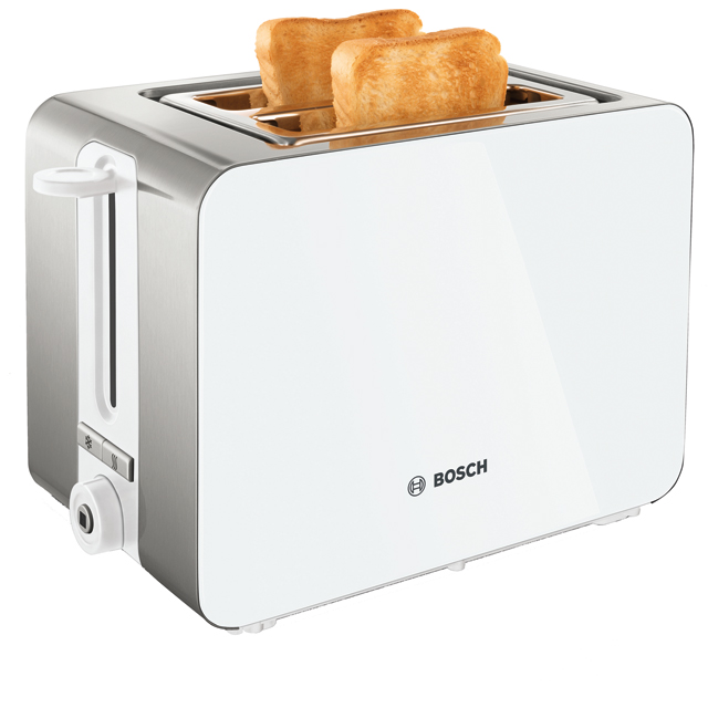 Bosch Sky TAT7201GB Yes Slice Toaster - White - TAT7201GB_WH - 1