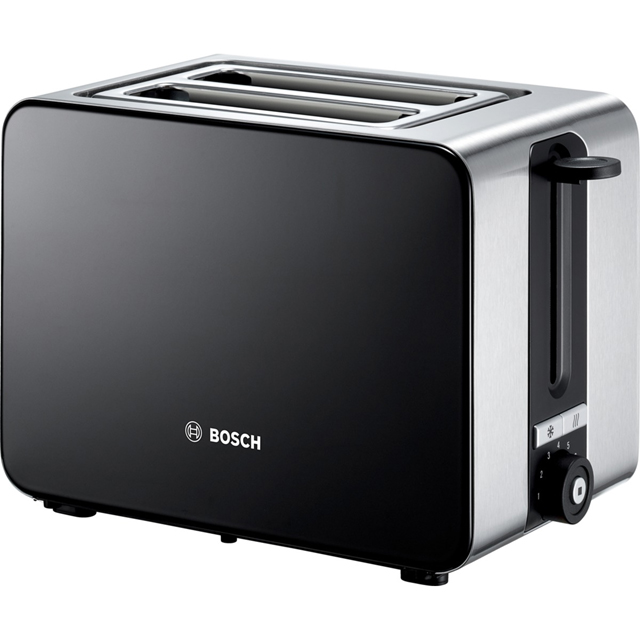 Bosch Sky TAT7203GB 2 Slice Toaster - Black - TAT7203GB_BK - 1
