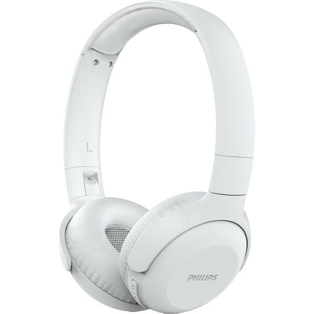 Philips UpBeat On-Ear Wireless Bluetooth Headphones - White