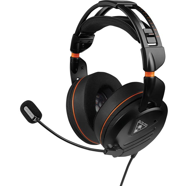 Turtle Beach Elite Pro HS Gaming Headset - Black - TBS-2010-02 - 1