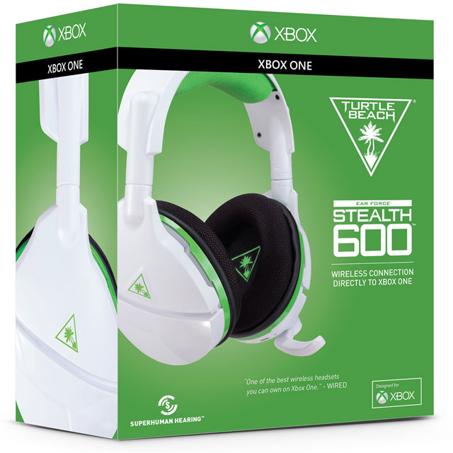 Turtle Beach Wireless Stealth 600 Gaming Headset - White - TBS-2035-02 - 1
