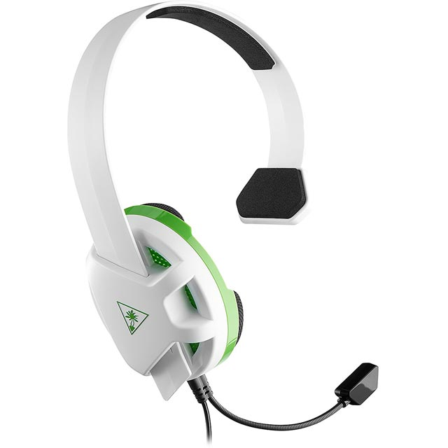 Turtle Beach Recon Chat Gaming Headset - White / Green