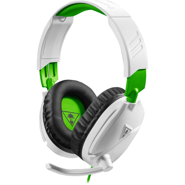 Turtle Beach Recon 70X Gaming Headset - White / Green - TBS-2455-02 - 1