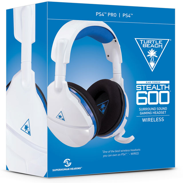 Turtle Beach Wireless Stealth 600 Gaming Headset - White - TBS-3035-02 - 1