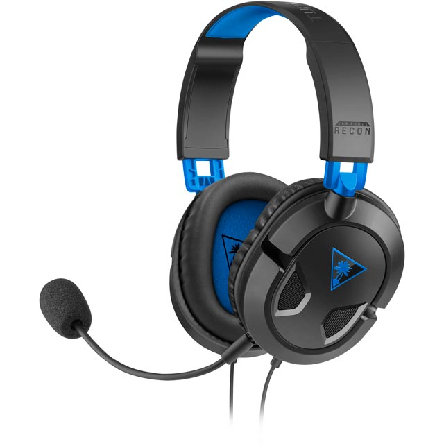Turtle Beach Recon 50P Gaming Headset - Black - TBS-3303-02 - 1