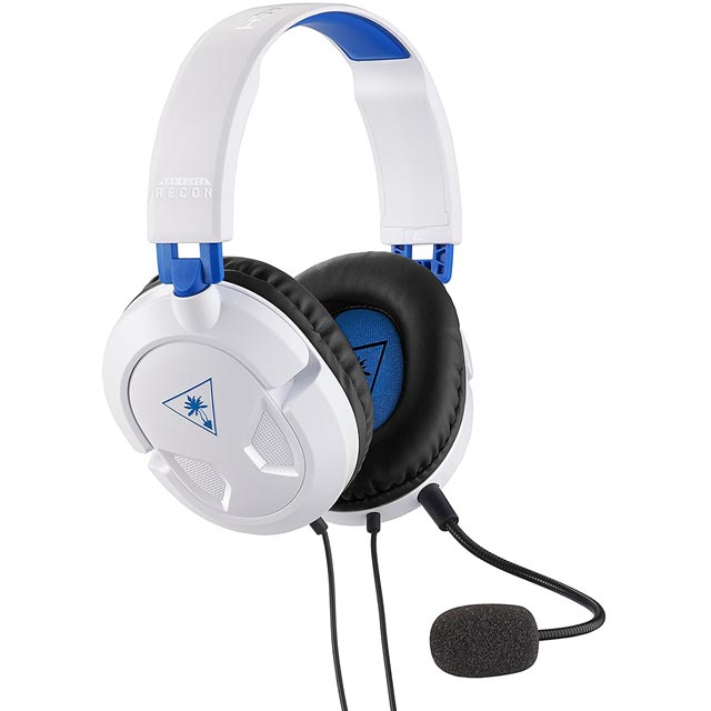 Turtle Beach Ear Force Recon 50P - White - TBS-3304-02 - 1