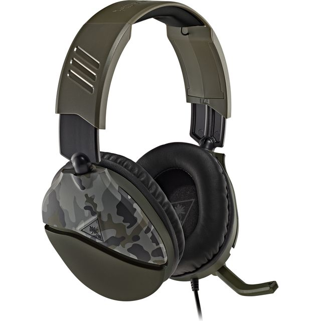Turtle Beach Recon 70 Recon 70 Green Camo Gaming Headset - Green Camouflage