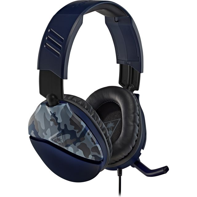 Turtle Beach Recon 70 Recon 70 Blue Camo Gaming Headset - Blue Camouflage
