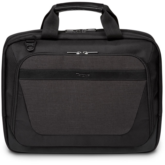 "Targus CitySmart Slimline Topload Laptop Bag for 14"" Laptop - Black / Grey - TBT913EU - 1"