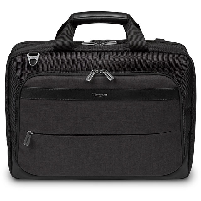 "Targus CitySmart High Capacity Top Load Laptop Bag for 15.6"" Laptop - Black / Grey"