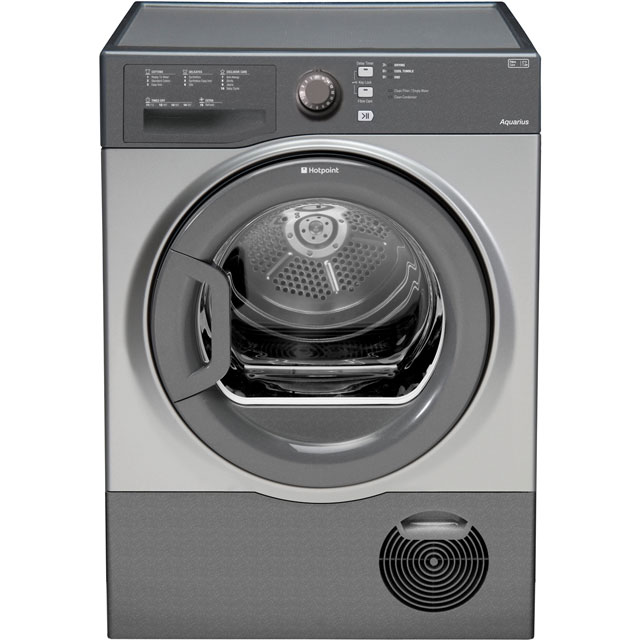 Hotpoint Free Standing Condenser Tumble Dryer in Graphite