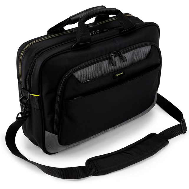 "Targus City Gear Topload Laptop Case for 15.6"" Laptop - Black"
