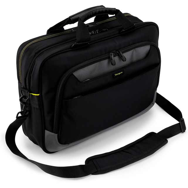 "Targus City Gear Topload Laptop Case for 17.3"" Laptop - Black"