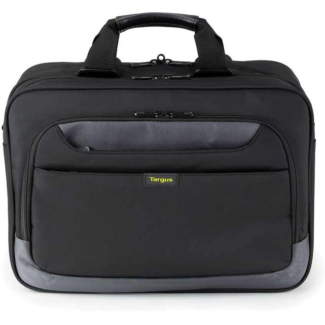 "Targus City Gear Topload Laptop & Printer Case for 15.6"" Laptop - Black - TCG500EU - 1"