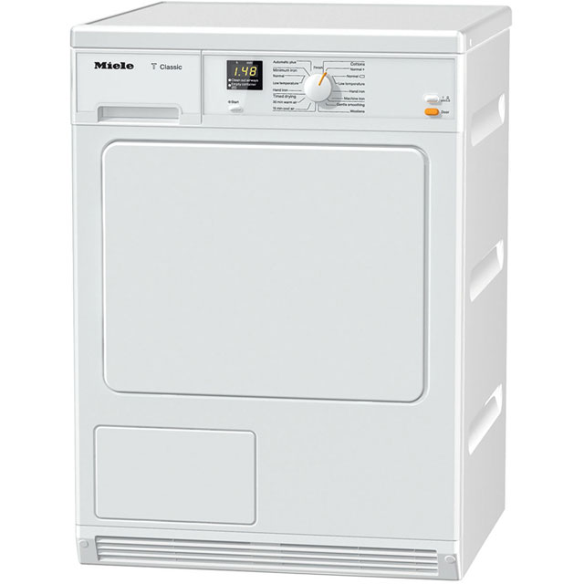Miele Free Standing Condenser Tumble Dryer in White