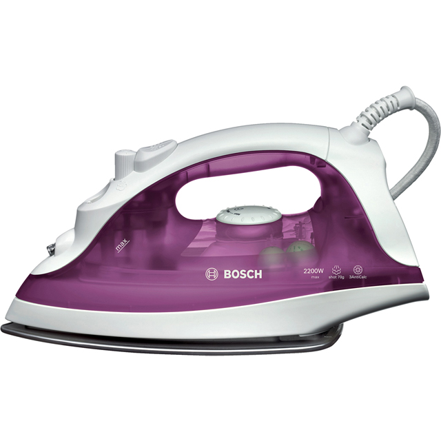 Bosch TDA2329GB 2200 Watt Iron -White / Purple