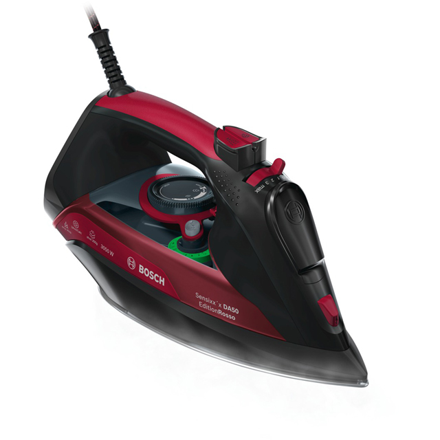 Bosch Sensixx EditionRosso TDA5070GB 3100 Watt Iron -Black / Red - TDA5070GB_BK - 1