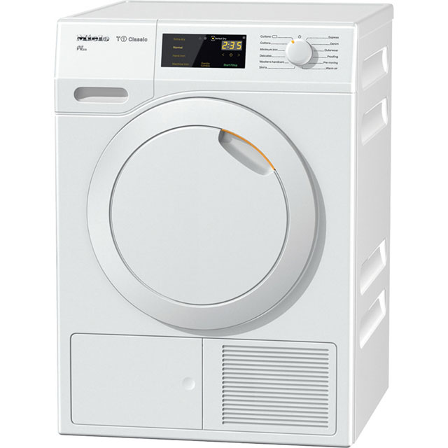 Miele T1 7Kg Heat Pump Tumble Dryer - White - A++ Rated