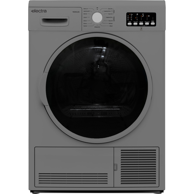 Electra TDC9112S 9Kg Condenser Tumble Dryer - Silver - B Rated