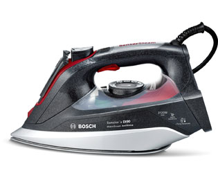 Bosch Sensixx'x DI90 AntiShine TDI9020GB 3120 Watt Iron -Anthracite / Red