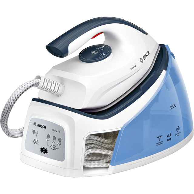Bosch TDS2140GB Pressurised Steam Generator Iron - White / Blue - TDS2140GB_WHB - 1