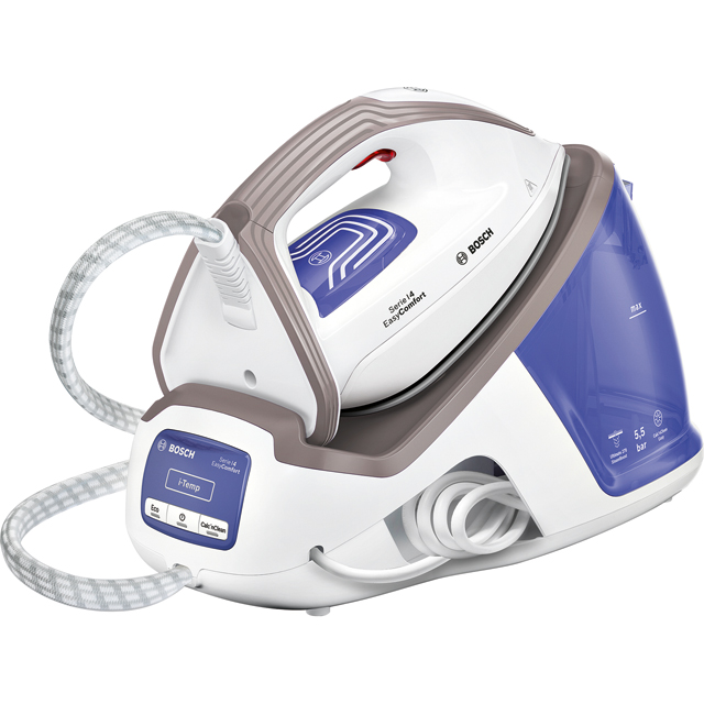 Bosch Series 4 Easy Comfort TDS4040GB Pressurised Steam Generator Iron - Blue / White - TDS4040GB_BL - 1