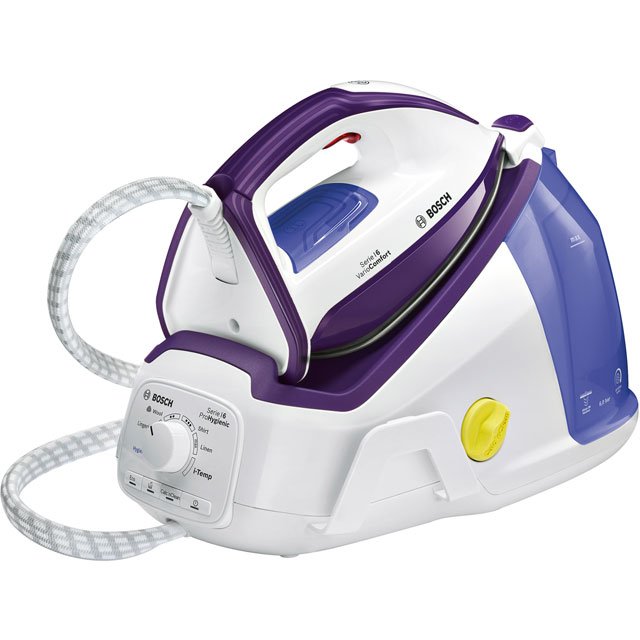 Bosch Series 6 Pro Hygienic Pressurised Steam Generator Iron - White
