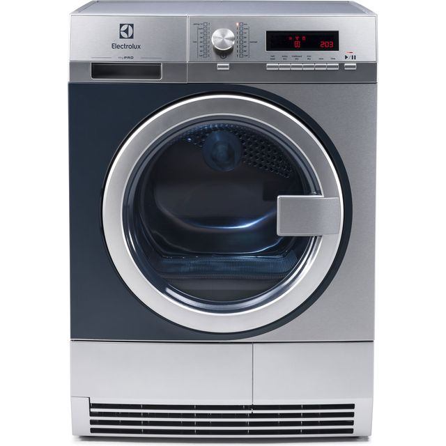 Image of Electrolux myPro TE1120 8Kg Semi Commercial Condenser Tumble Dryer - Stainless Steel - B Rated