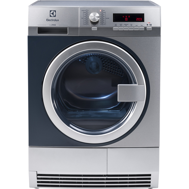 Electrolux myPro TE1120P 8Kg Semi Commercial Condenser Tumble Dryer - Stainless Steel - B Rated - TE1120P_SS - 1