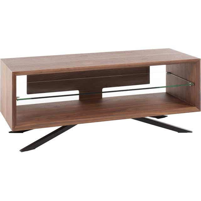 Techlink Arena AA110W 3 Shelf TV Stand - Walnut