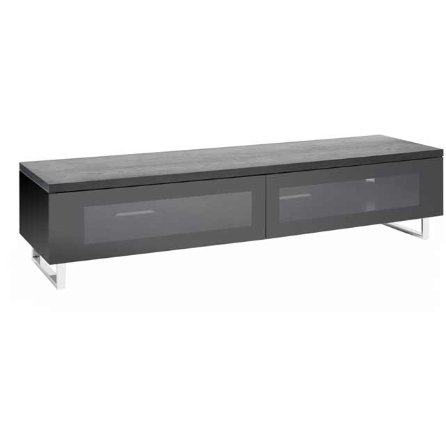 Techlink Panorama PM160B 3 Shelf TV Stand - Black