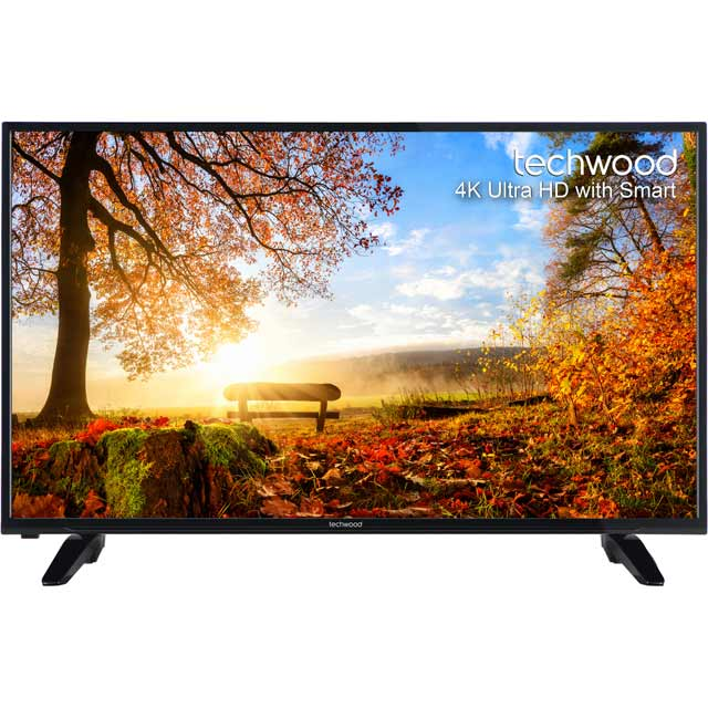 Techwood 43AO4USB 43'' 4K Ultra HD Black LED TV