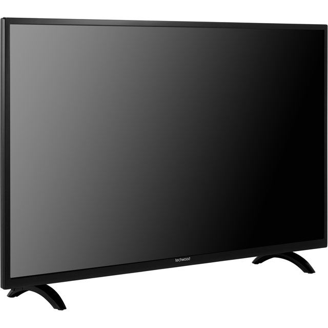 "Techwood 50AO7USB 50"" Smart TV - Black - 50AO7USB - 3"