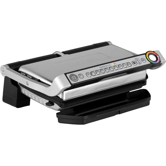 Tefal OptiGrill XL GC722D40 Health Grill - Stainless Steel - GC722D40_SS - 1