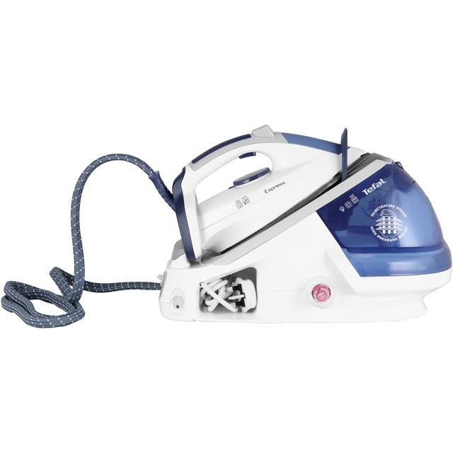 Tefal Express Anti-Scale High Pressure GV7466 Pressurised Steam Generator Iron - GV7466_BL - 1