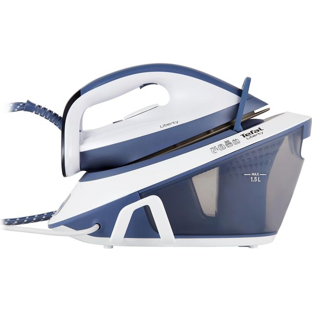 Tefal Liberty SV7020 Pressurised Steam Generator Iron - Light Blue / White - SV7020_LBW - 1