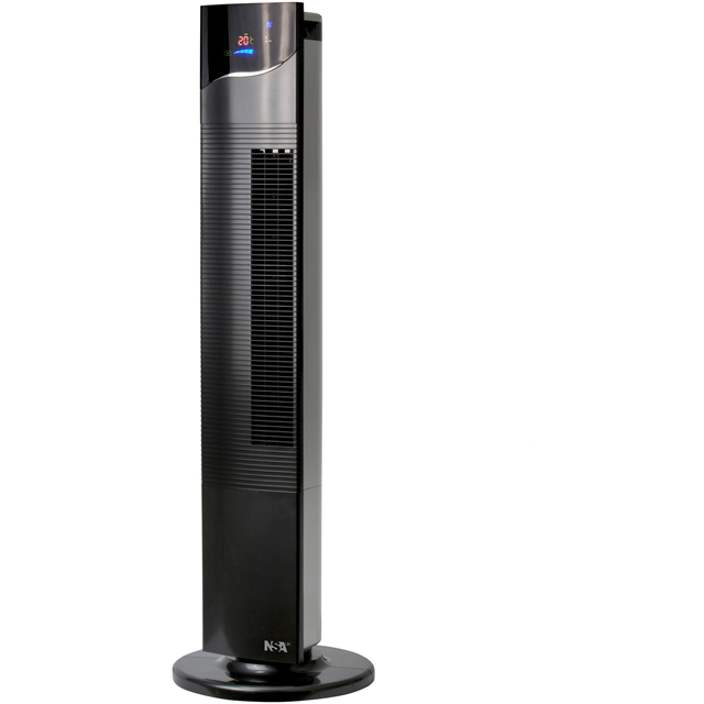 NSAuk The Ultimate TF-21RC Tower Fan in Black